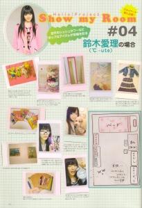 A peek inside Suzuki Airi's bedroom♥