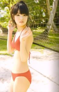 "Michishige Sayumi in ""La"" (Scan0052)"