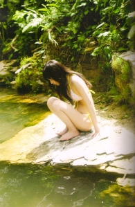 "Michishige Sayumi in ""La"" (Scan0061)"