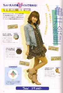 Kamei's♥ budgeted fashion sense~*