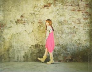 "aiko ""BABY"" (""hidden"" inner back cover photo scan)"