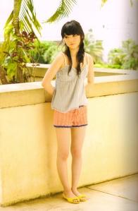 "Michishige Sayumi in ""La"" (Scan0060)"