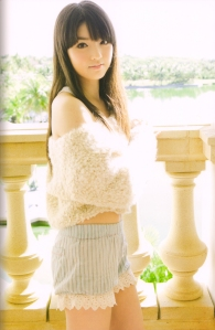 "Michishige Sayumi in ""La"" (Scan0072)"