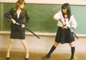Aichan♥ vs. Manoeri♥ (The Musashi tease~*)...