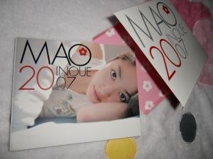 """""""Inoue Mao 2007"""" first press shashinshuu"""