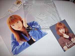 "Shiina Noriko single ""Propose"" w/ photo card & clear jacket insert."