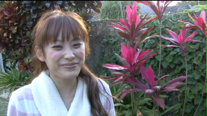 "Takahashi Ai in ""Katachi"" making of..."