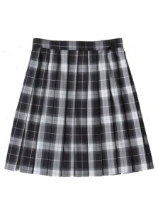 Seifuku skirt (black)!!