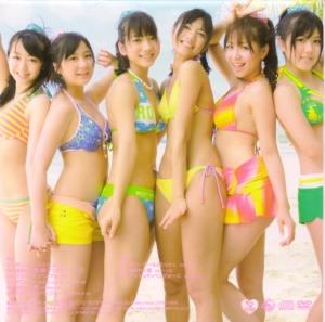 """AKB48 """"Ponytail to shu shu"""" Type B jacket Scan0009"""