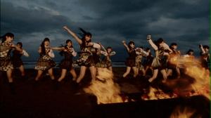 "AKB48 in ""Nusumareta kuchibiru"""