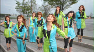 "Morning Musume in ""Seishun Collection""..."