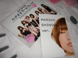 "AKB48 ""Wagamama Girlfriend"" shashinshuu~* w/ kiss poster"