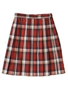 Seifuku skirt (red)
