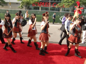my AKB48 red carpet experience! CIMG0193