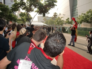 my AKB48 red carpet experience! CIMG0188