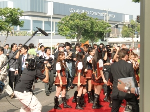 my AKB48 red carpet experience!