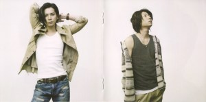 """Arashi """"To be free (first press booklet) Scan0054"""