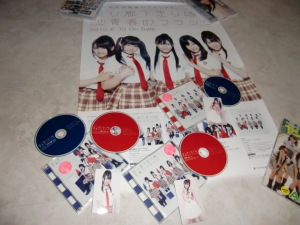 Watarirouka Hashiritai Seishun no flag (first press Types A,C & DVD)