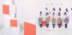 """Watarirouka Hashiritai """"Seishun no flag"""" DVD (jacket scan)"""