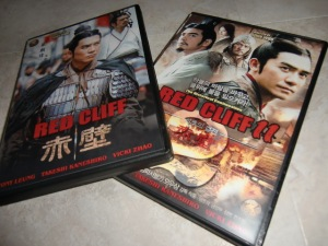 Red Cliff I & II DVD set