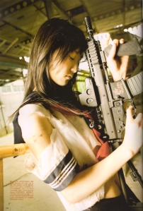 Matsui Rena in UTB August 2010 Scan0019