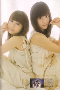 Oshima Yuko & Maeda Atsuko in UTB August 2010  Scan0040