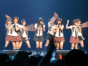 AKB48 @ Anime Expo 2010 live @ Nokia Theater!!..this is actually all from my camera!!