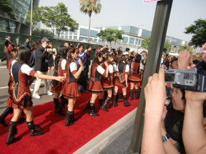 my AKB48 red carpet experience! CIMG0194