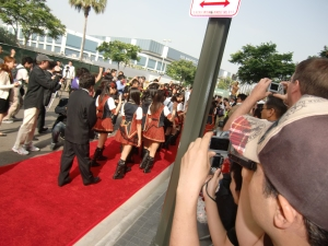 my AKB48 red carpet experience! CIMG0195