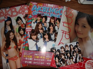 a bit of AKB48 shopping at the Anime Expo!