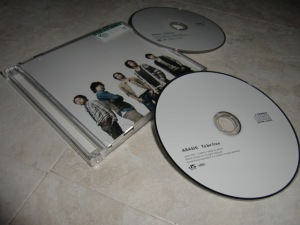 """Arashi """"To be free"""" (first press) CD + DVD release"""