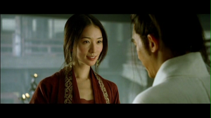 Lin Chi Ling & tony Leung in Red Cliff