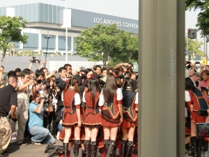 my AKB48 red carpet experience! CIMG0202