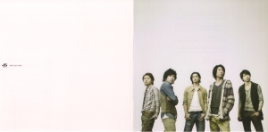 """Arashi """"To be free"""" (first press booklet) Scan0051"""