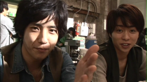 "Nino & Shokun in ""To be free""..."