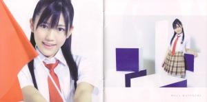"Watarirouka Hashiritai ""Seishun no flag"" type C booklet scan 2"