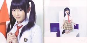 "Watarirouka Hashiritai ""Seishun no flag"" type C booklet scan 3"