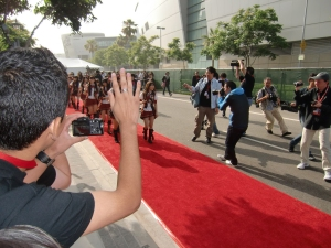 my AKB48 red carpet experience! CIMG0190