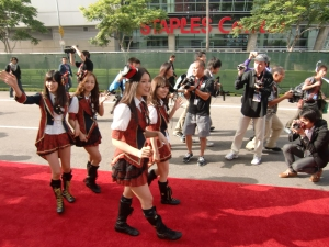 my AKB48 red carpet experience! CIMG0191