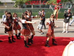 my AKB48 red carpet experience! CIMG0192