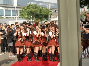 my AKB48 red carpet experience! CIMG0203