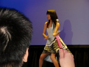 Mano Erina @ Club Nokia movie event July 1st, 2010 CIMG0217