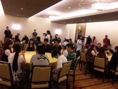 AKB48 Anime Expo 2010 meet & greet event! I'm in this room somewhere!