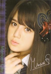 AKB48 Team B's Oku Manami