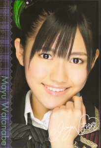 AKB Team B's Watanabe Mayu