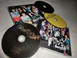 Berryz Koubou Maji Bomber!! type A & pv DVD single releases