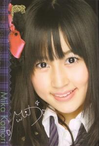 AKB48 Team B's Komori Mika