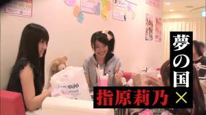 Sasshi and Mikapon @ a maid cafe...