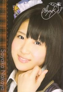 AKB48 Team A's Nakaya Sayaka