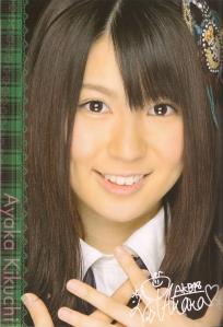 AKB48 Team K's Kikuchi Ayaka